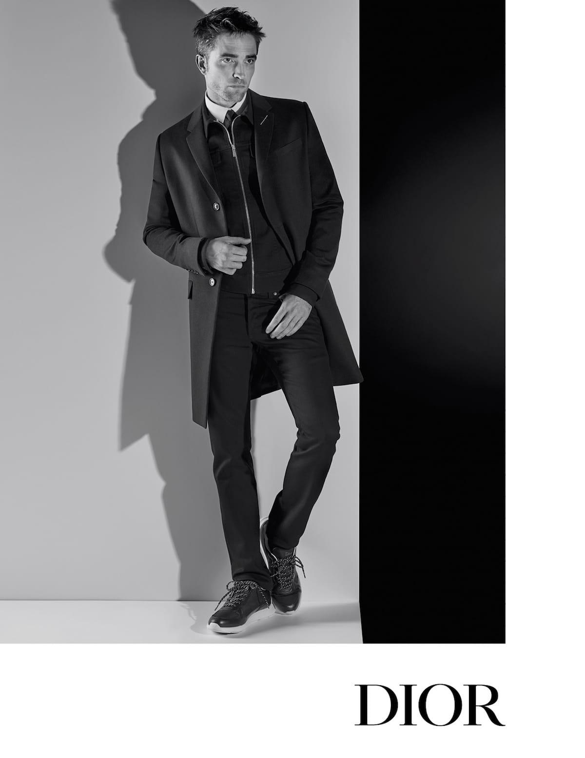 ロバート・パティンソンをカール・ラガーフェルドが捉える!Dior Homme AUTUMN 18 CAMPAIGN fashion180413_dior-homme_3-1200x1555