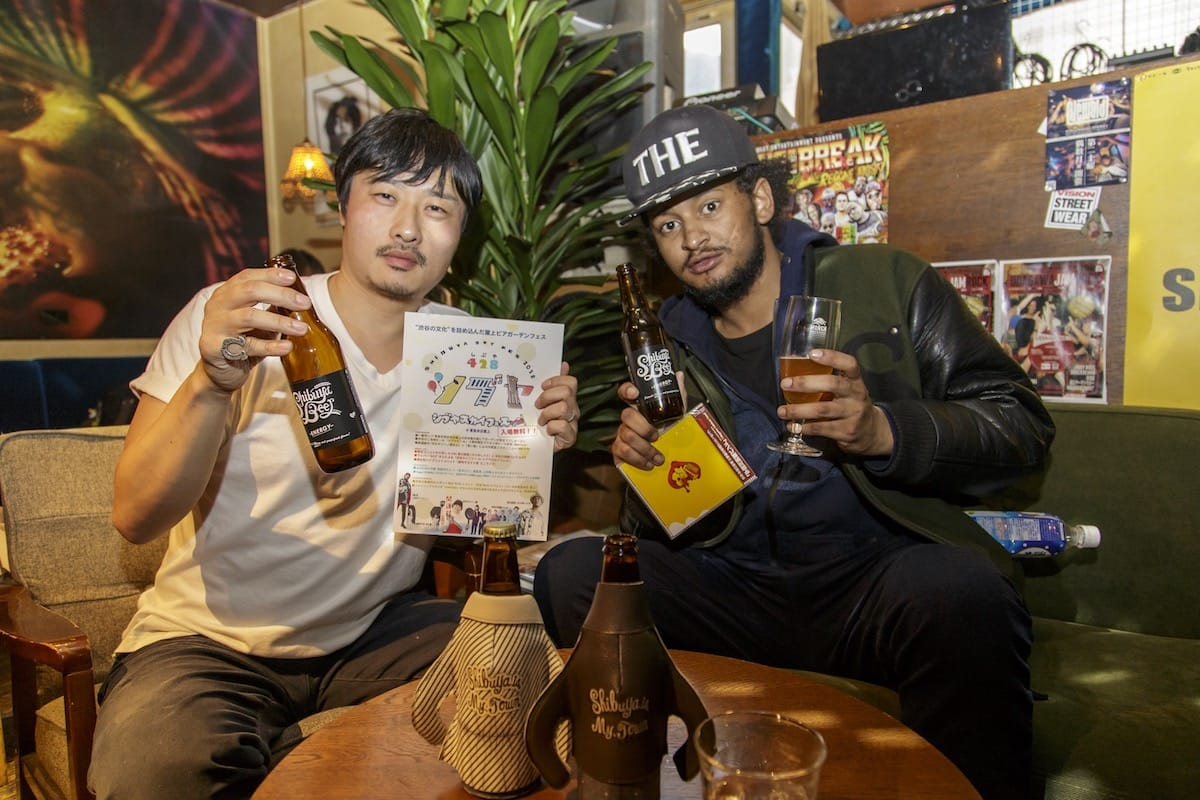 【インタビュー】ラッパー・ACEとわんぱくプロデューサーが語る、渋谷の魅力と<シブヤスカイフェス> in180418_shibuyabeer6-1200x800