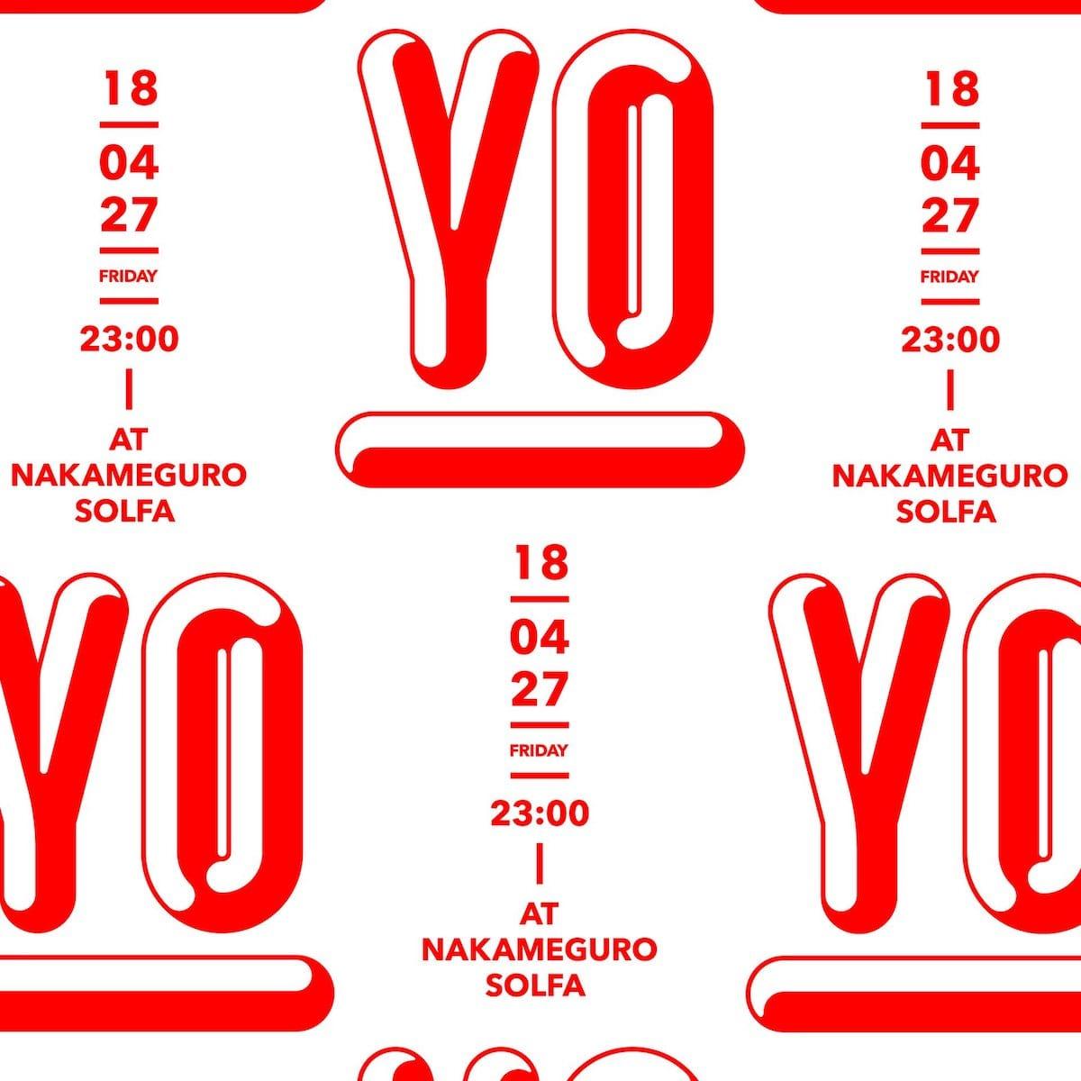 〈OMAKE CLUB〉のTSUBAMEと安田昂弘によるイベント<YO!>が開催!SEX山口やchelmicoらが出演 music18041_yo_omakeclub_1-1200x1200
