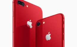 iPhone 8、8 plus(PRODUCT)RED Special Edition