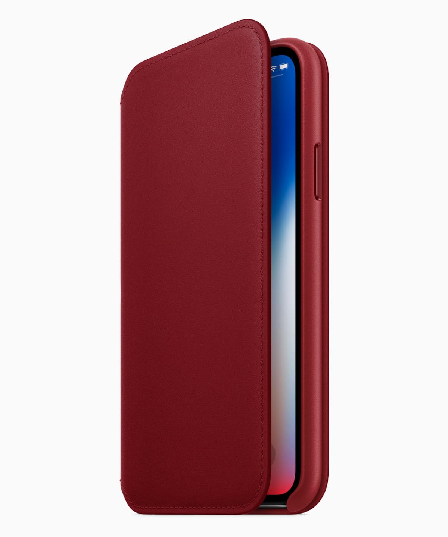 赤いiPhone 8 & iPhone X用レザーケースが登場!Appleと(RED)のこれまでの取り組みとは? technology180410_iphone-product-red_2-1200x1440