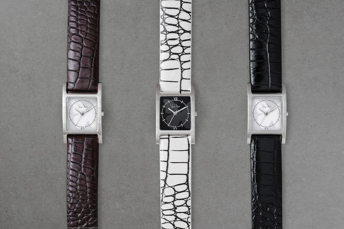 普通にオシャレな腕時計だけど、実は便利機能満載!wena × Hanae Mori manuscritのスマートウォッチ登場! technology180417_wena-hanae_mori_2-1200x801