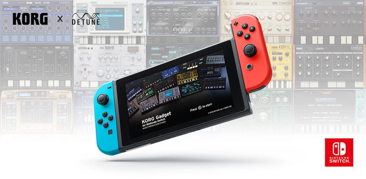 ゲーム感覚で楽しめる音楽制作スタジオ「KORG Gadget for Nintendo Switch」ついに発売! technology180426_korg-gadget-nintendoswitch_7-1200x589