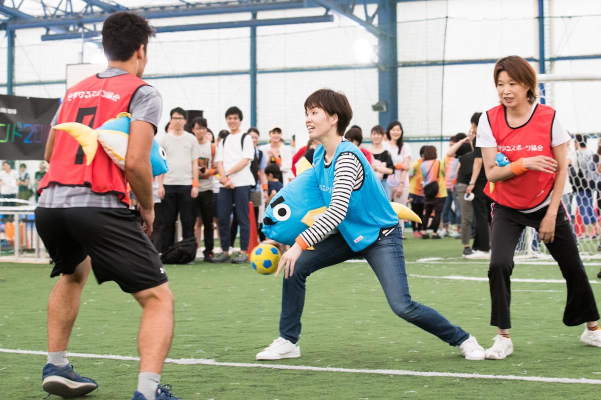 澤田智洋さんが主催する<ゆるスポーツランド2018>に潜入レポート!体も心も大笑い、それがゆるスポの正体だった!? 20180519_0160-1200x800