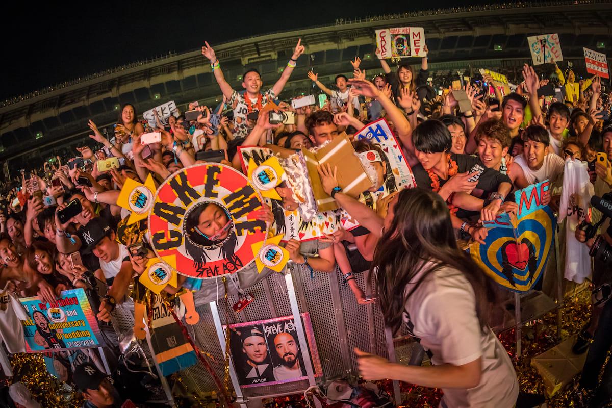 【レポート】PKCZ®、きゃりー、スティーヴ・アオキ、ディプロら出演。<EDC JAPAN 2018>8万人が熱狂した光と音のカーニバル electricdaisycarnival-japan-18051410-1200x800