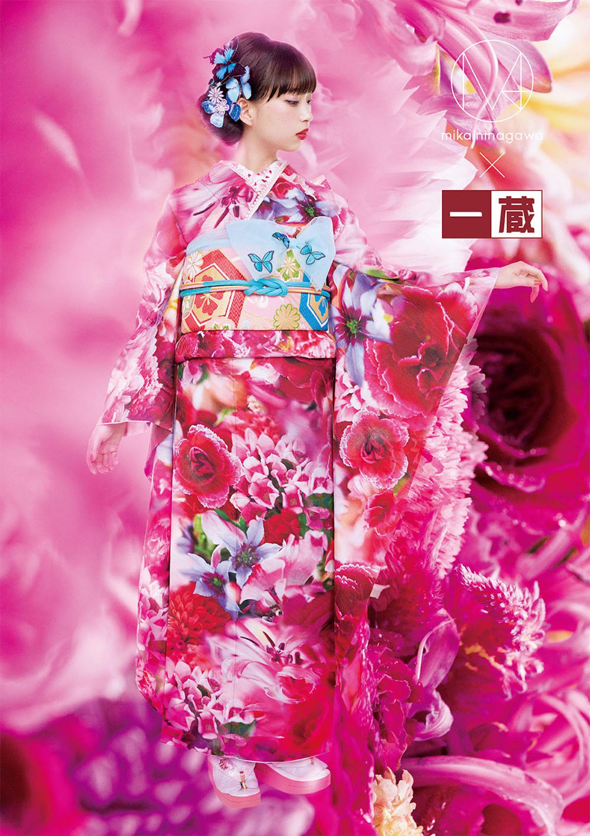 蜷川実花による色彩豊かすぎる振袖を森川葵が着用!ビビットなビジュアル公開 fashion180531_mika-ninagawa_6-1200x1702