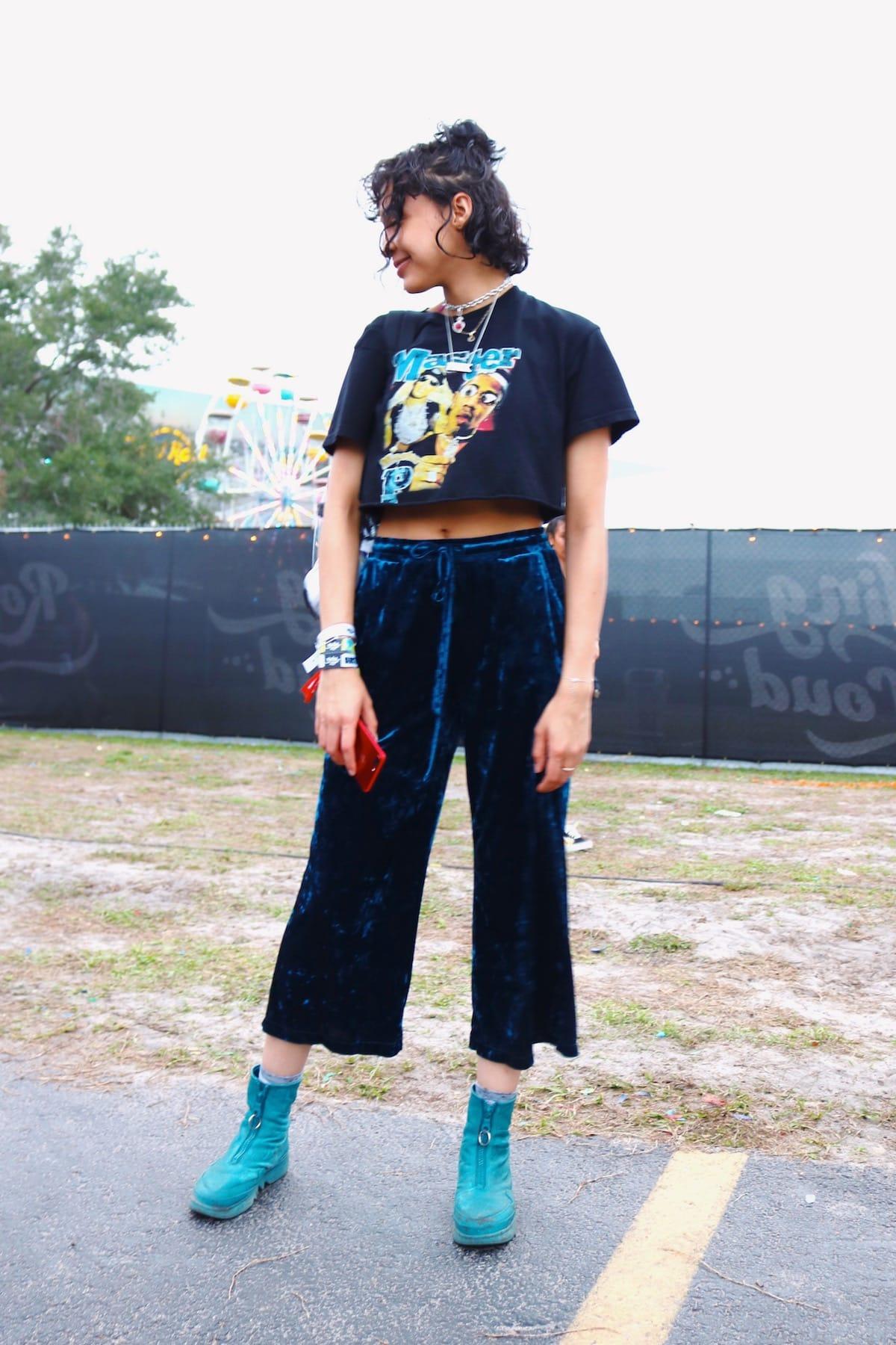 世界No.1ヒップホップフェス<Rolling Loud 2018>ファッションスナップ到着!最新のストリートスタイルをチェック! music180531_rollingloud_12-1200x1800