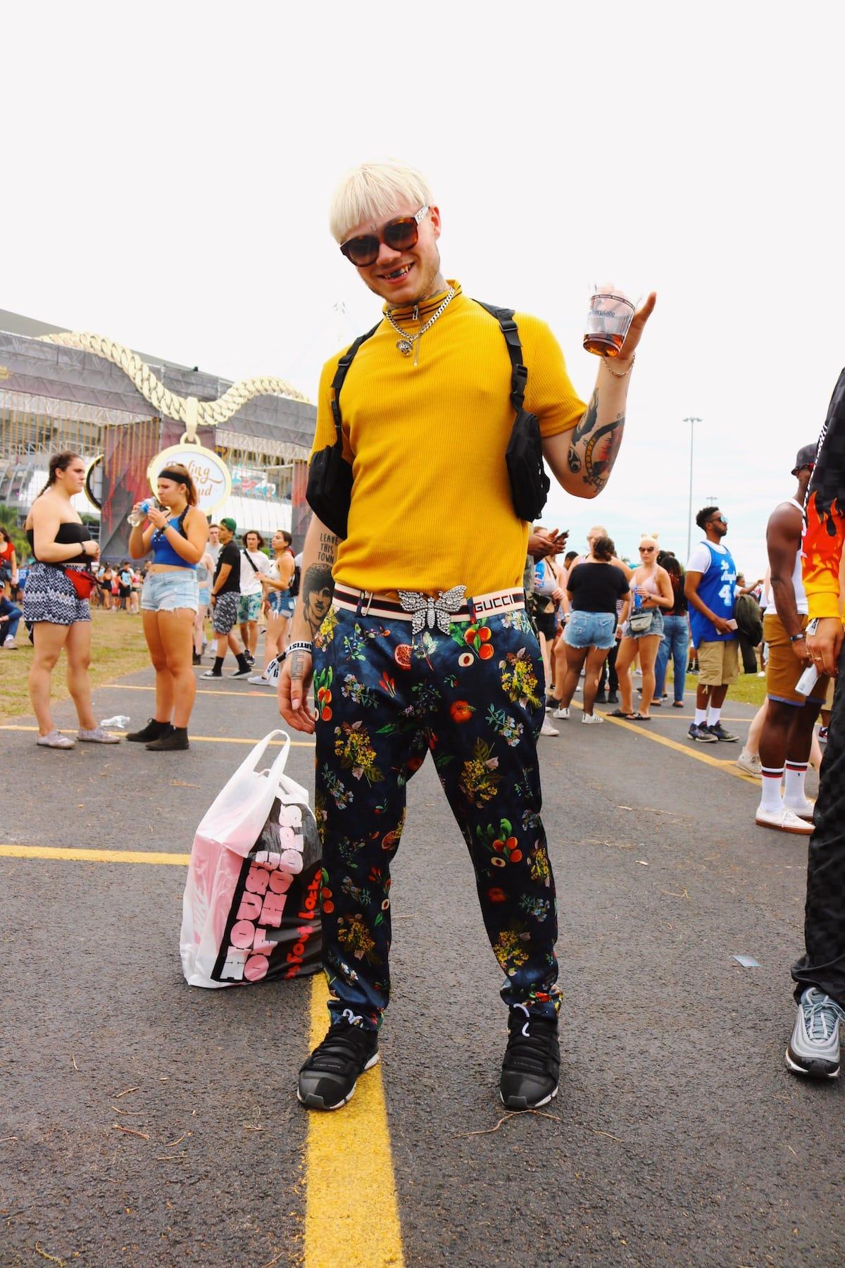 世界No.1ヒップホップフェス<Rolling Loud 2018>ファッションスナップ到着!最新のストリートスタイルをチェック! music180531_rollingloud_7-1200x1800