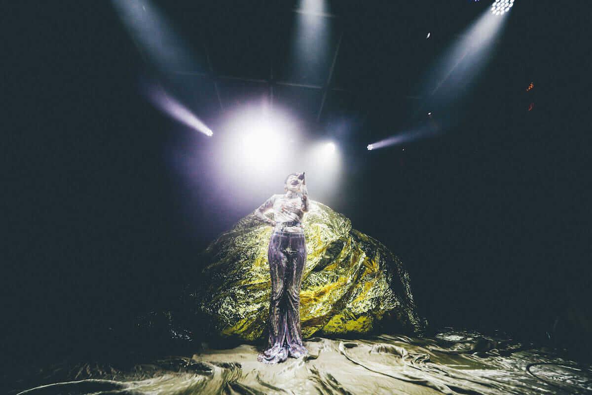 水曜日のカンパネラ×サマソニ出演のフレンチ・ポップバンドMoodoidがコラボ新曲を披露。代官山 SPACE ODD、ライブフォトレポート 0030-1200x800