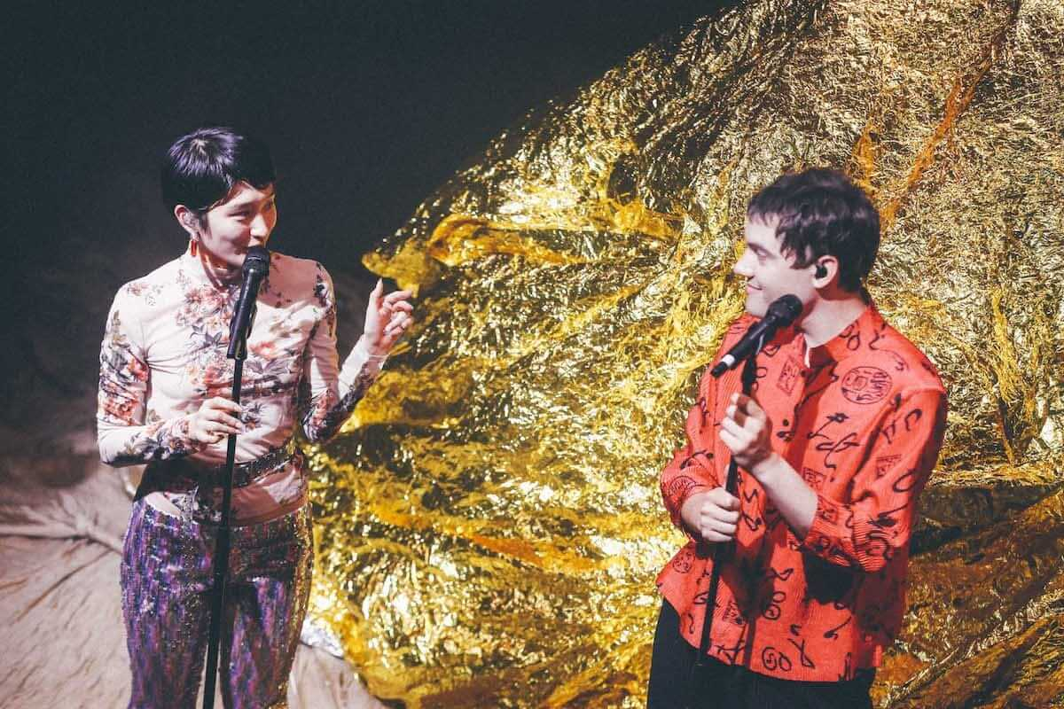 水曜日のカンパネラ×サマソニ出演のフレンチ・ポップバンドMoodoidがコラボ新曲を披露。代官山 SPACE ODD、ライブフォトレポート 0865-1200x800