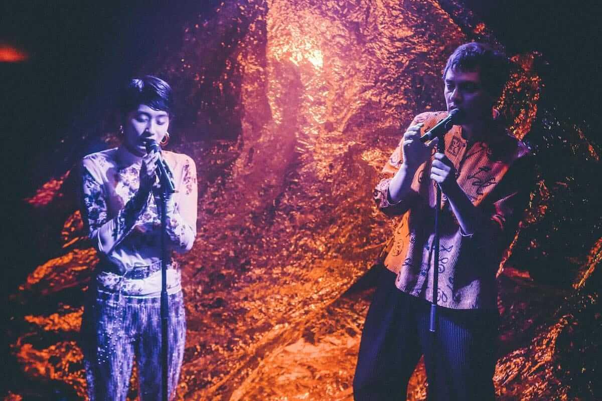 水曜日のカンパネラ×サマソニ出演のフレンチ・ポップバンドMoodoidがコラボ新曲を披露。代官山 SPACE ODD、ライブフォトレポート 0889-1200x800