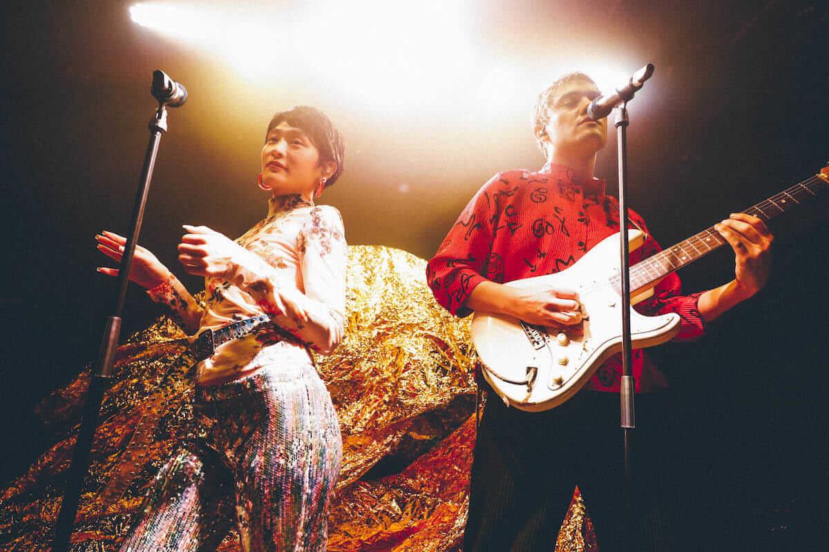 水曜日のカンパネラ×サマソニ出演のフレンチ・ポップバンドMoodoidがコラボ新曲を披露。代官山 SPACE ODD、ライブフォトレポート 0934-1200x800
