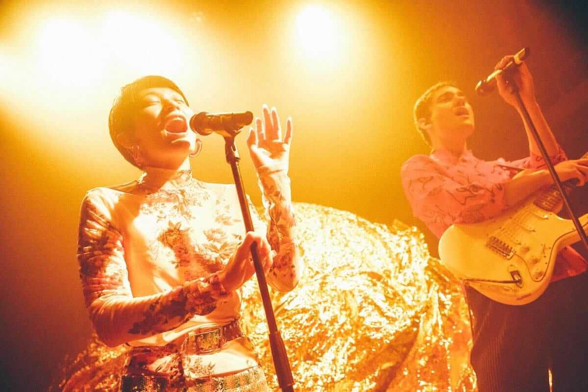 水曜日のカンパネラ×サマソニ出演のフレンチ・ポップバンドMoodoidがコラボ新曲を披露。代官山 SPACE ODD、ライブフォトレポート 0983-1200x800
