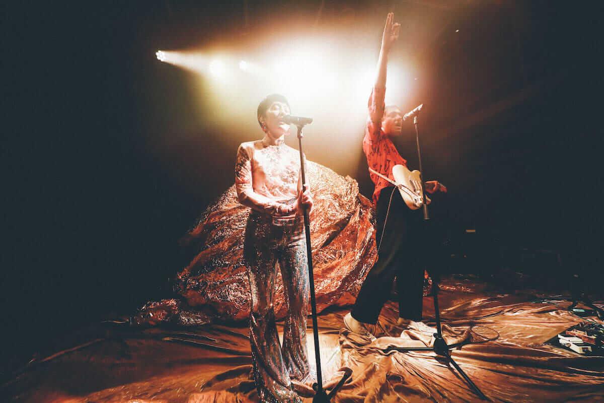 水曜日のカンパネラ×サマソニ出演のフレンチ・ポップバンドMoodoidがコラボ新曲を披露。代官山 SPACE ODD、ライブフォトレポート 1255-1200x800