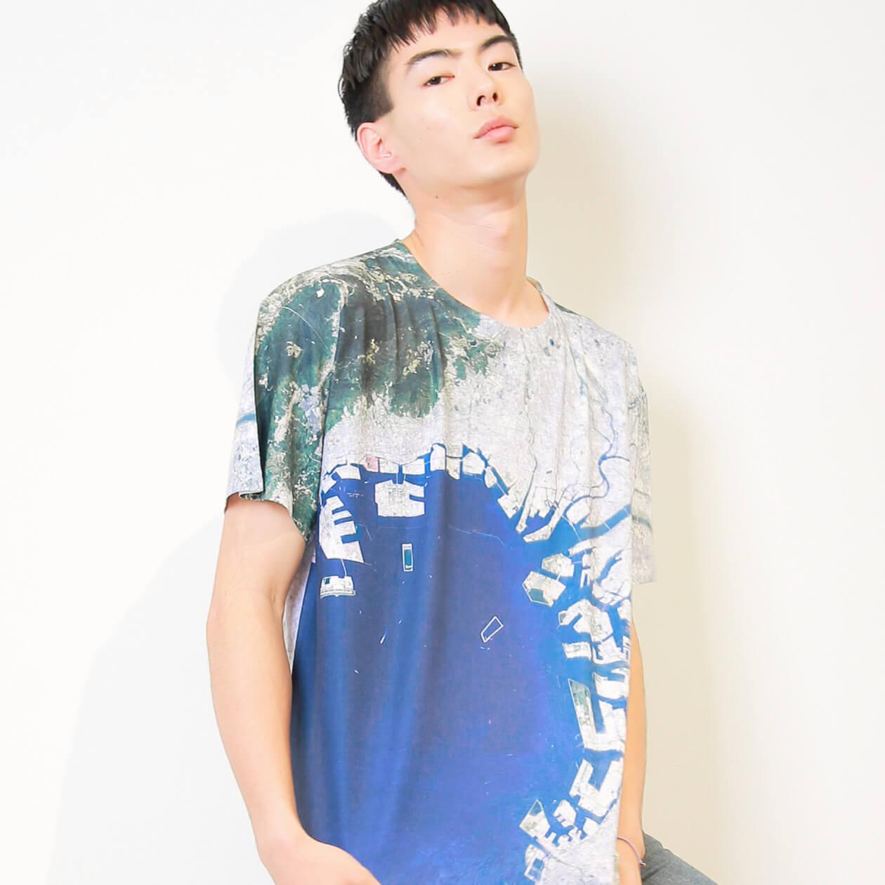お気に入りの場所の衛星画像をTシャツ、iPhoneケースにできる!ファッションブランド「WEAR YOU ARE」 fashion180613_wearyouare_1