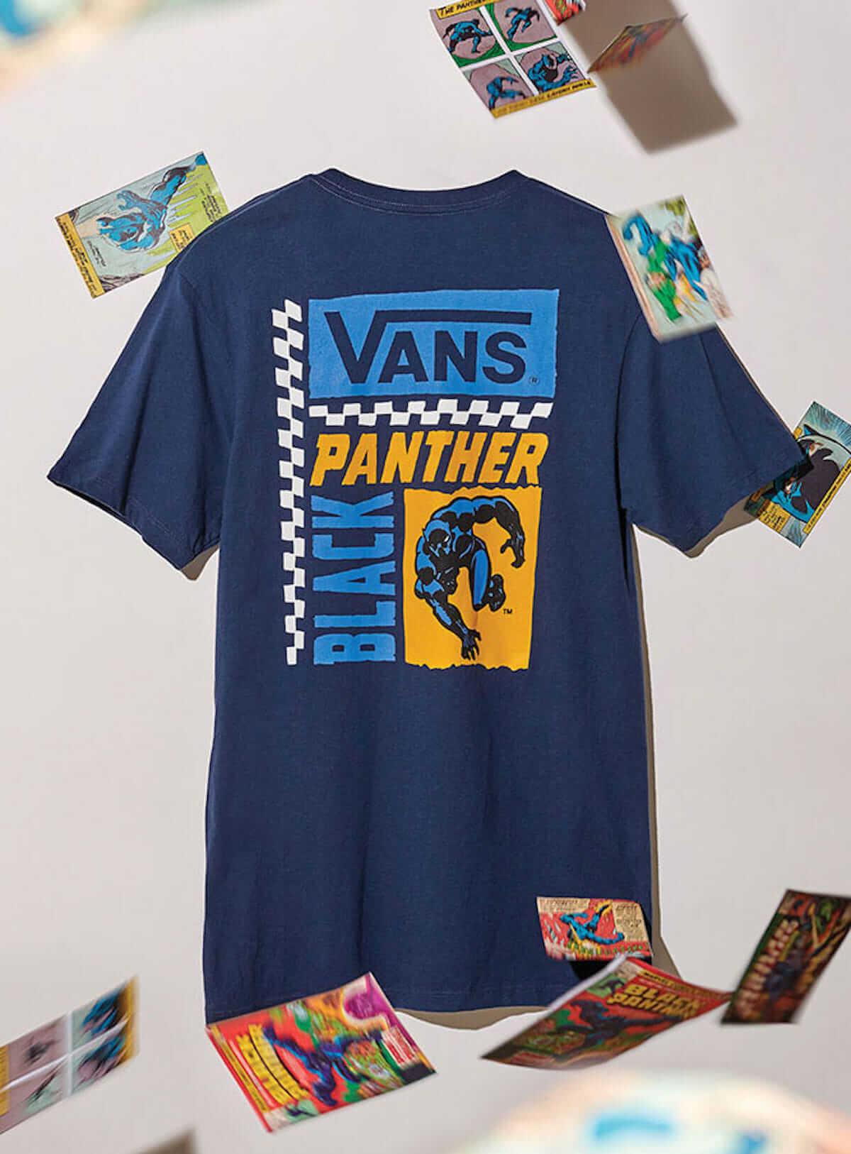 VANS×Marvel コラボシューズ登場!アイアンマン、スパイダーマン、ブラックパンサーなどがマーベル感満載ポップなスニーカーに fashion180615_vans_6-1200x1626