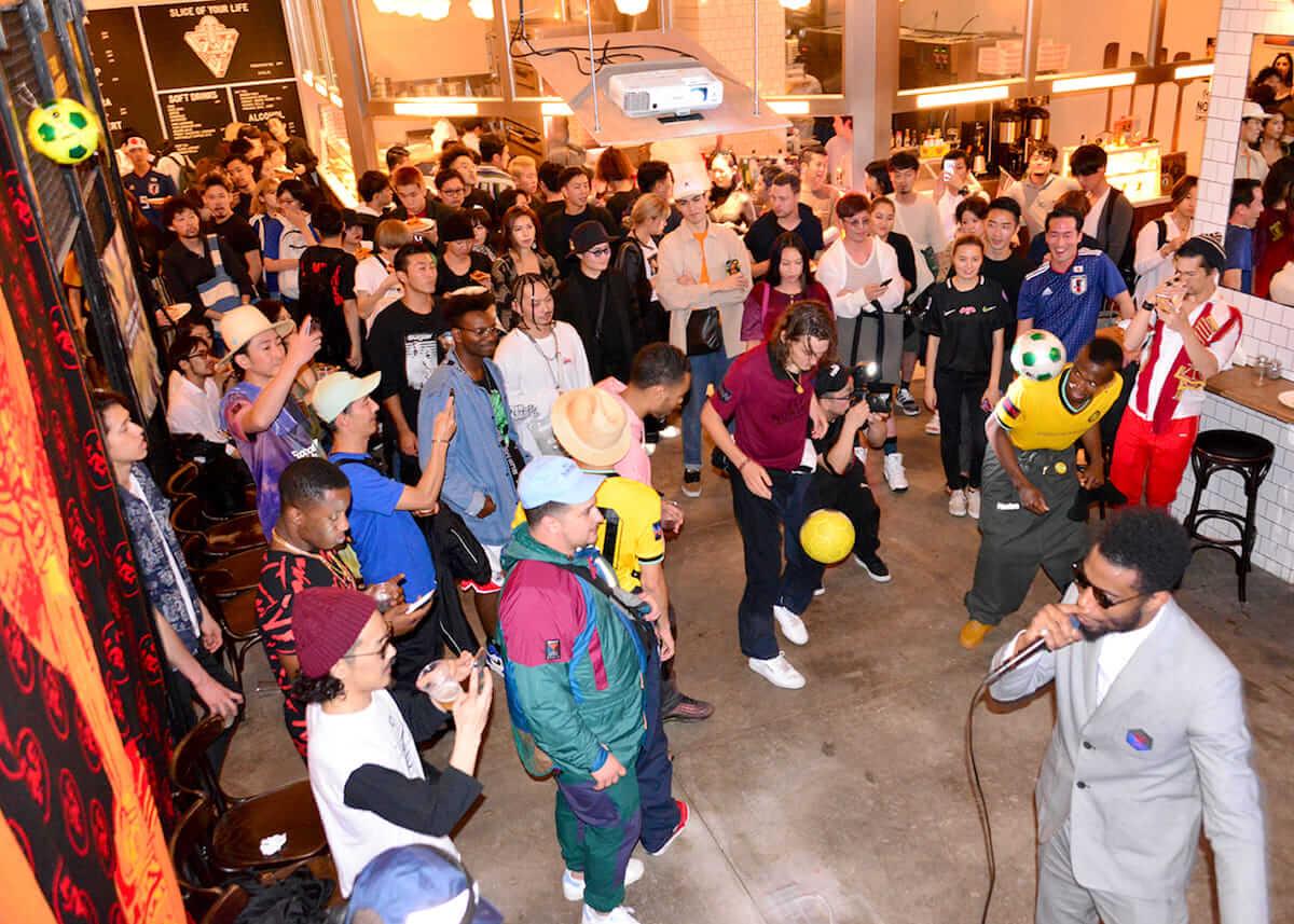 ニューヨークで話題のストリートサッカークラブNowhere FC×CROSS THE BORDER、コラボ商品ローンチパーティーレポート life180621-nowhereFC10-1200x857
