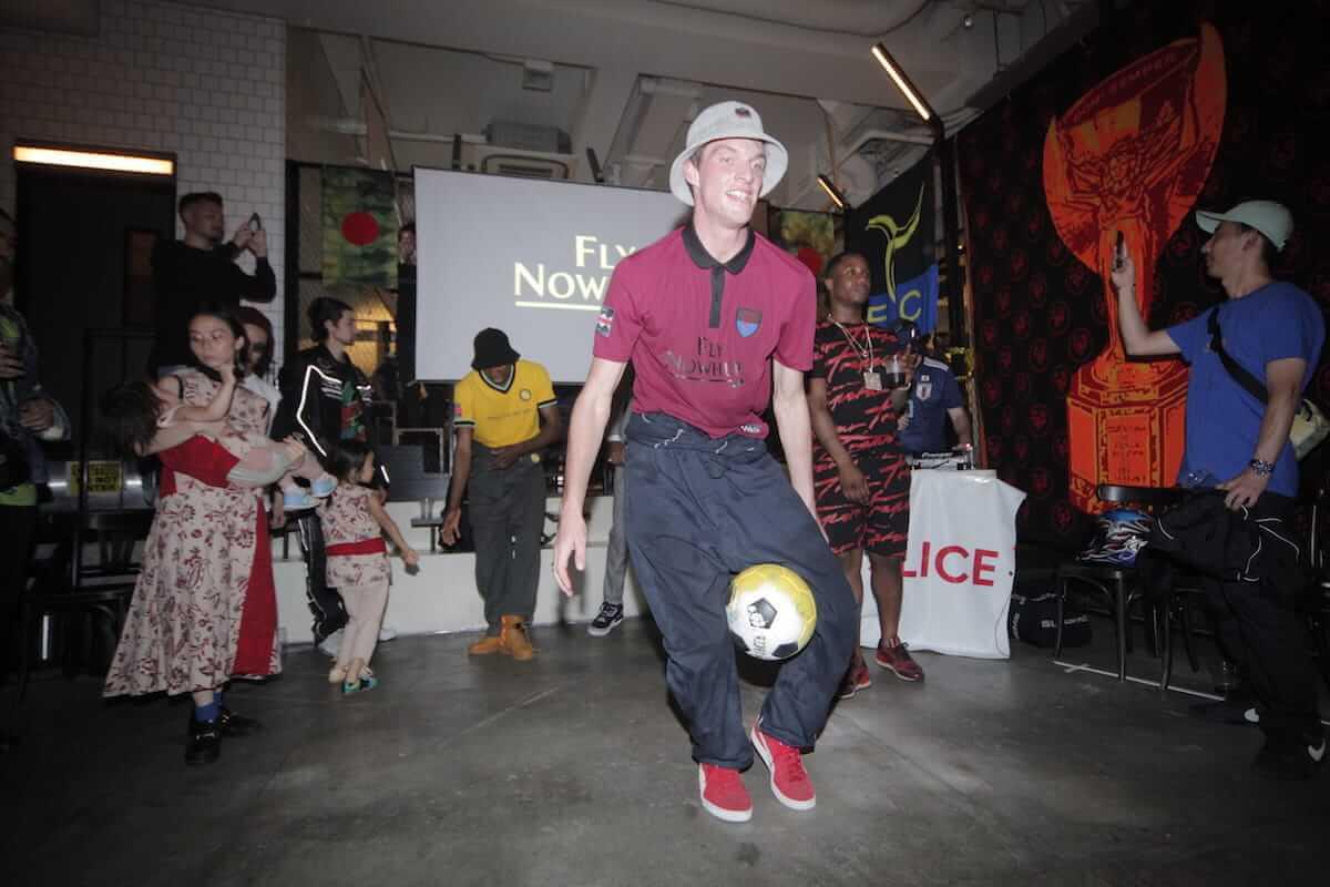 ニューヨークで話題のストリートサッカークラブNowhere FC×CROSS THE BORDER、コラボ商品ローンチパーティーレポート life180621-nowhereFC9-1200x800