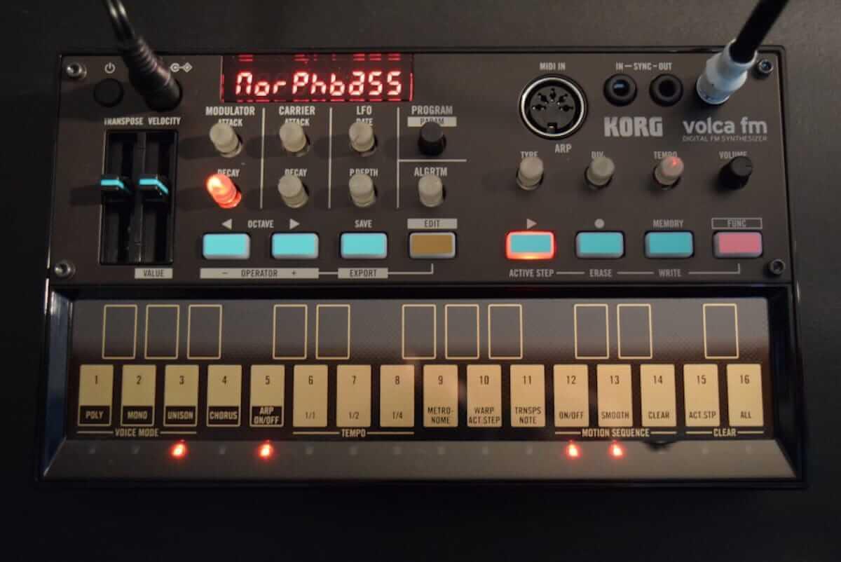 80年代に一世を風靡したFM音源をコンパクト・サイズで気軽に楽しめる、KORG『volca fm』の魅力 technology180606_volcafm_2-1200x802