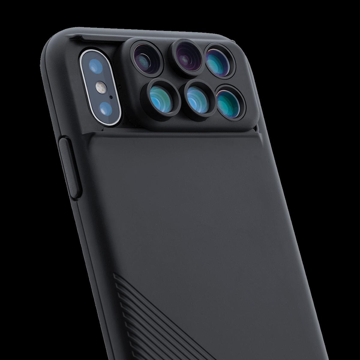 iPhone Xにレンズを6つ追加できるiPhoneケース「SHIFT CAM 2.0」が登場! technology180608_shiftcam2_2-1200x1200