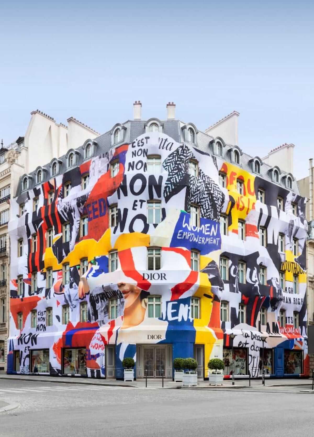 ディオール、パリ本店が期間限定でカラフルに! fashion180705_dior_1-1200x1667