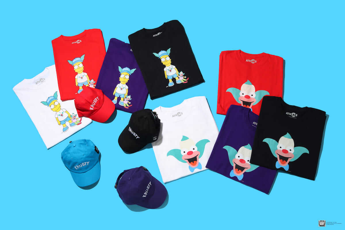 ザ・シンプソンズ×ATMOSコラボ第3弾「KRUSTY COLLECTION」登場! fashion180721_simpsons-atmos_2-1200x800