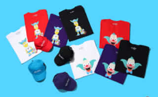 THE SIMPSONS × ATMOS LAB Capsule Collection第3弾「KRUSTY COLLECTION」