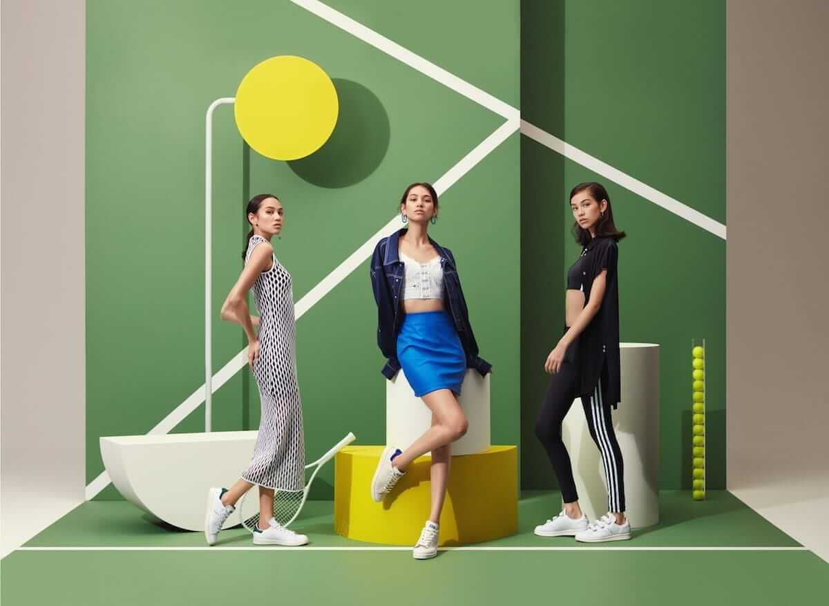 アディダス名作スニーカー「STAN SMITH」「SUPERSTAR」キャンペーンに水原希子、5lack起用! fashion180730_adidas_3-1200x877