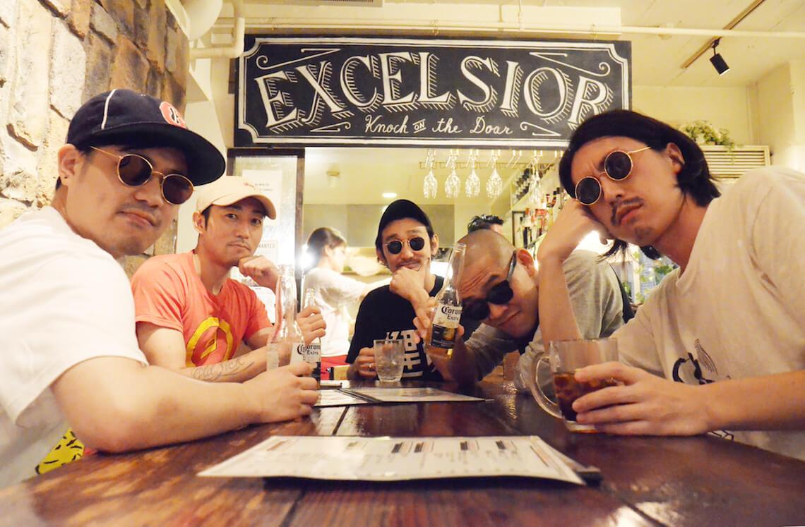TOKYO HEALTH CLUBの新曲「NO NINJA TOKYO feat. 鋼田テフロン」MVが公開|監督はSpikey John music180702_tokyohealthclub_2-1