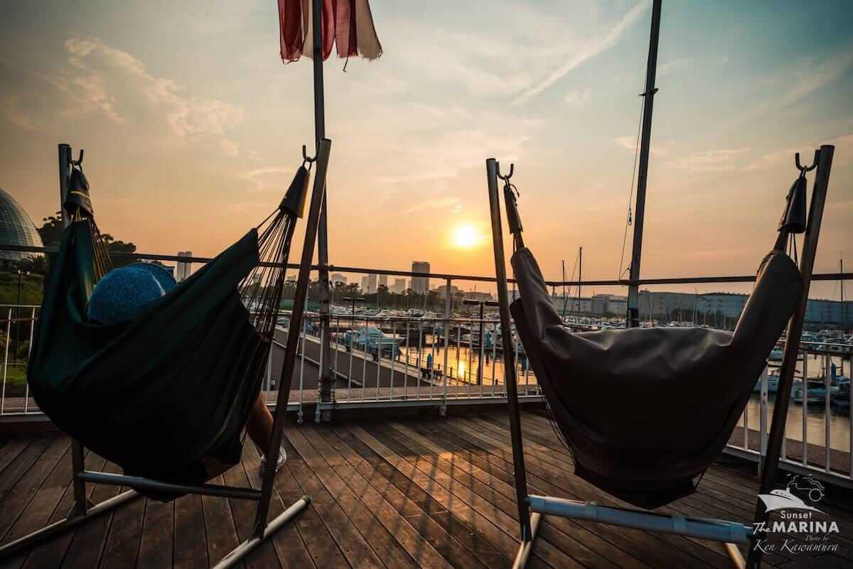 ラジオ番組『Tokyo Brilliantrips』連動!野外フェスをテーマにしたアートエキシビジョンなどをご紹介! music180709_sunset-the-marina-10-1200x801