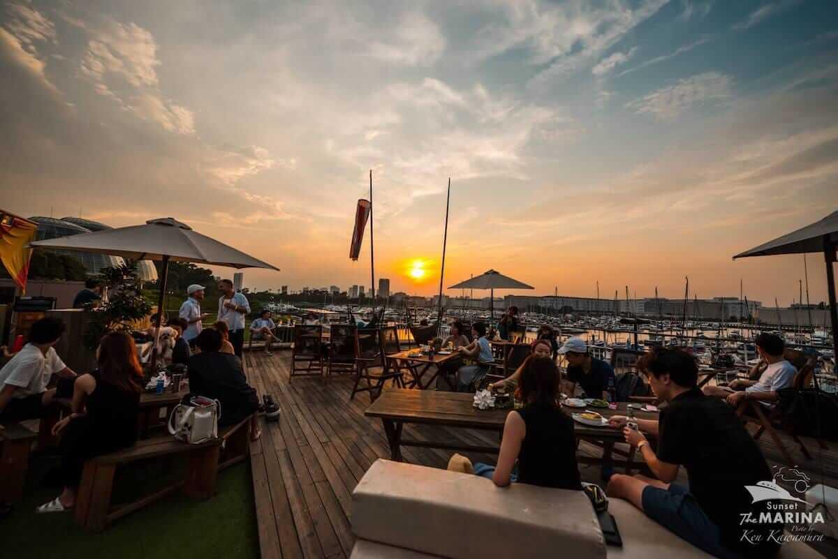 夕陽をよりドラマチックに、究極のチルをお届け。極上のサンセットパーティ「Sunset The MARINA vol.14」が開催 music180709_sunset-the-marina-5-1200x801