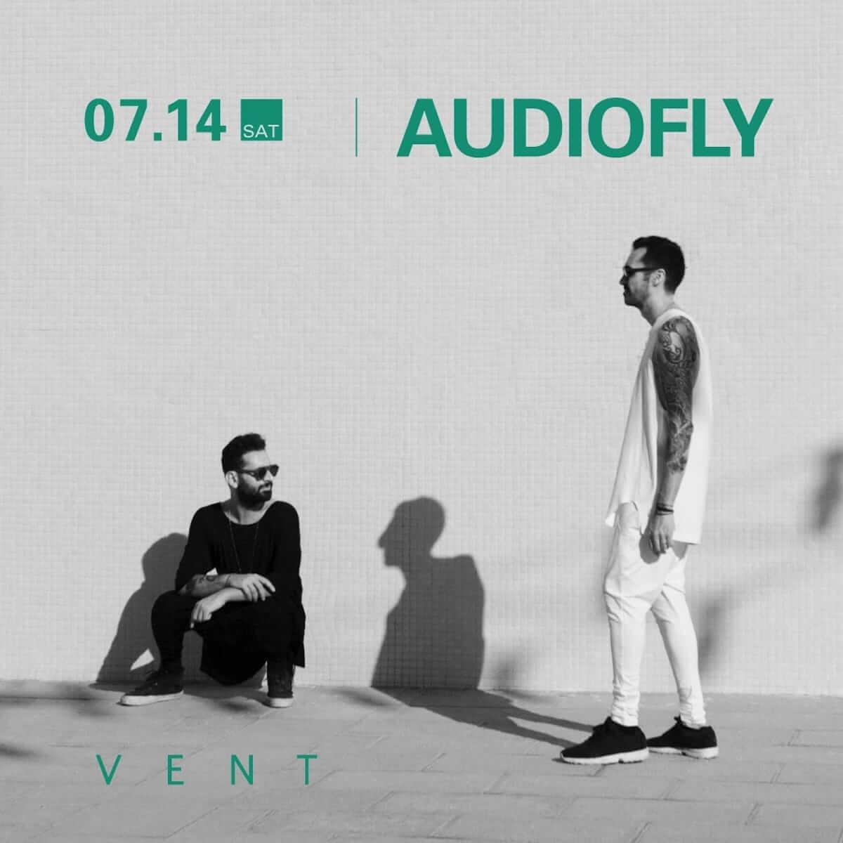 世界中からリクエストが止まないAudioflyが7月14日のVENTに初登場 music180713_audiofly_3-1200x1200