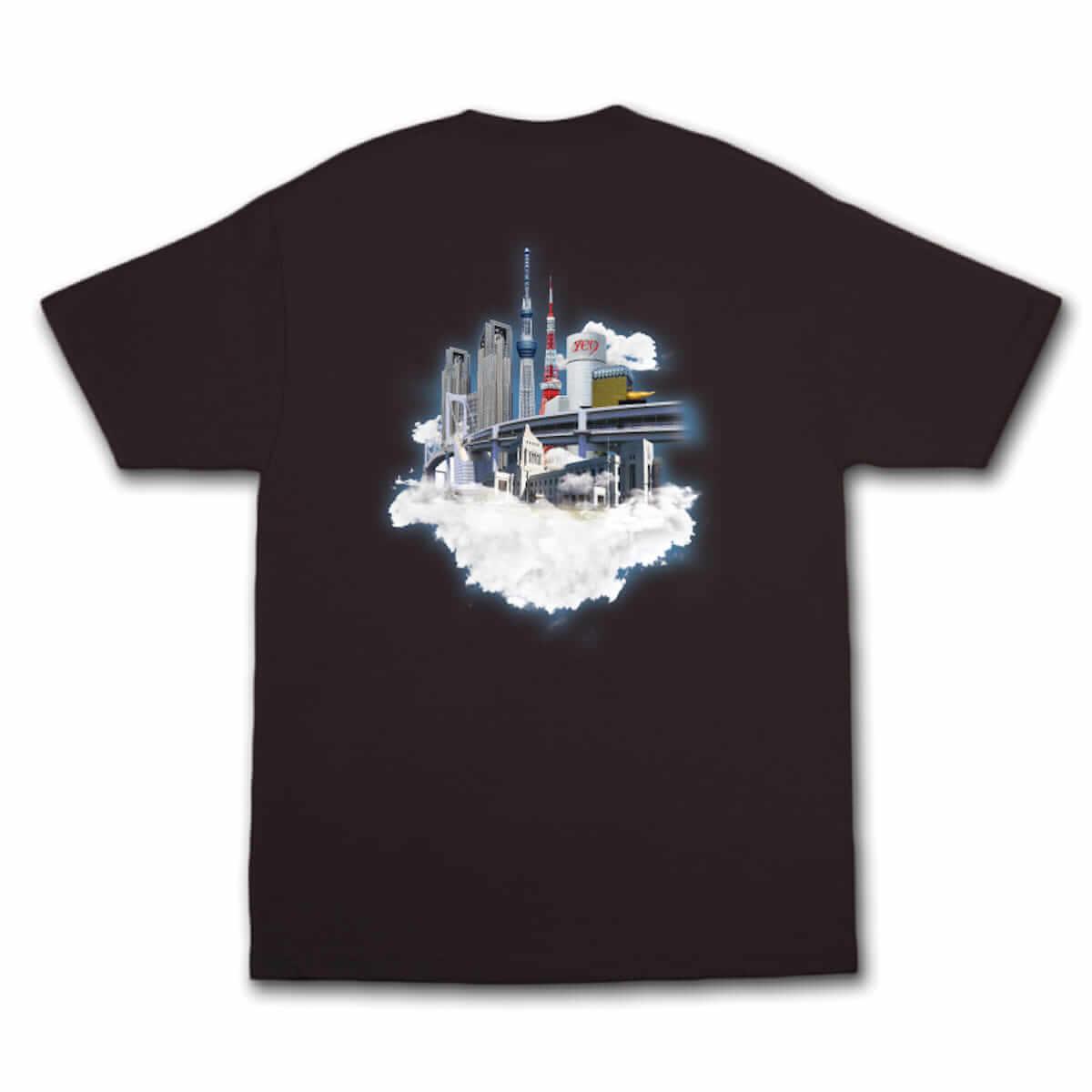 YENTOWNが大集合するイベント「YENJAMIN」の会場限定Tシャツのデザインが公開|kzm『DIMENSION』とAwichの新曲のリリパに music180714-yanjamin-3-1200x1200