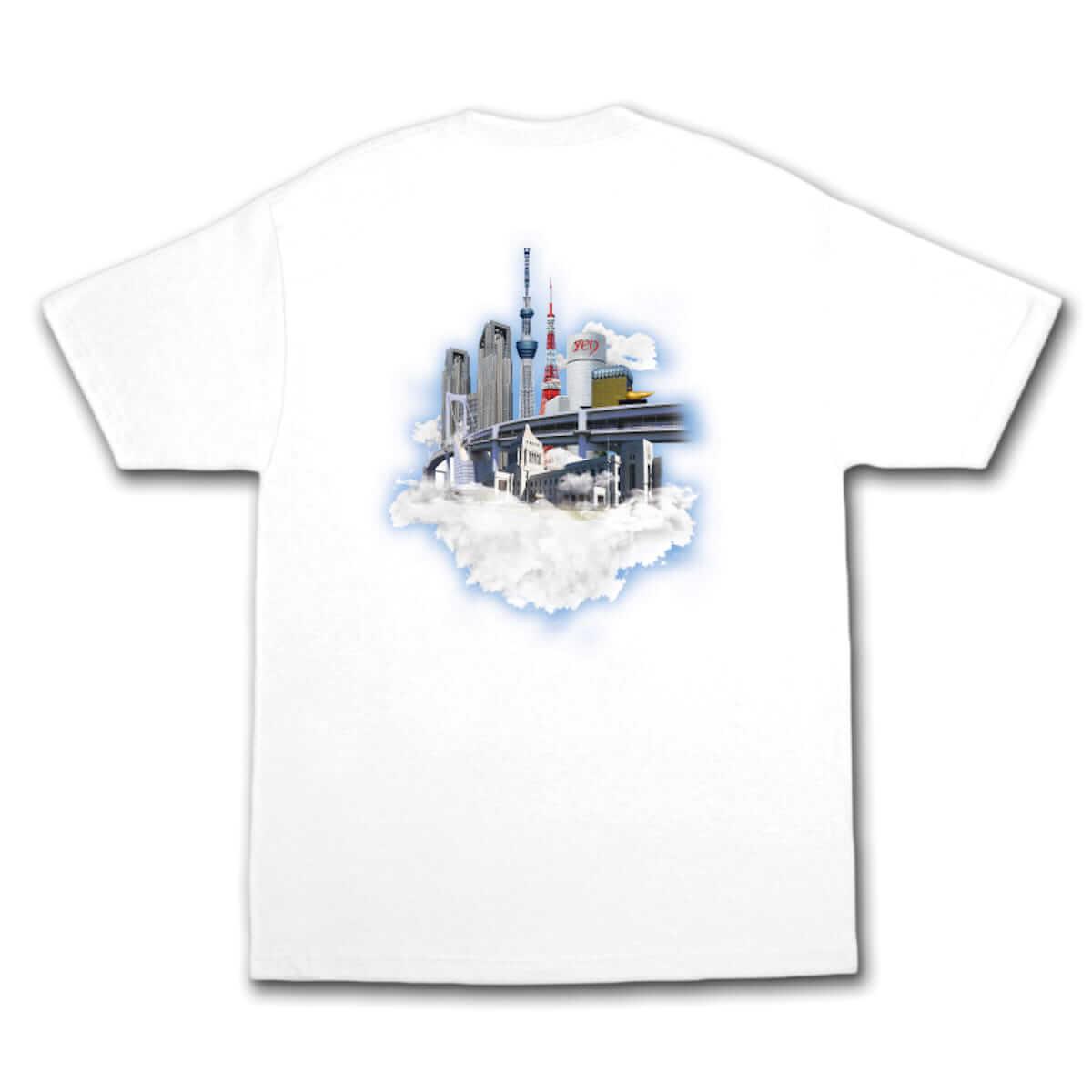 YENTOWNが大集合するイベント「YENJAMIN」の会場限定Tシャツのデザインが公開|kzm『DIMENSION』とAwichの新曲のリリパに music180714-yanjamin-5-1200x1200