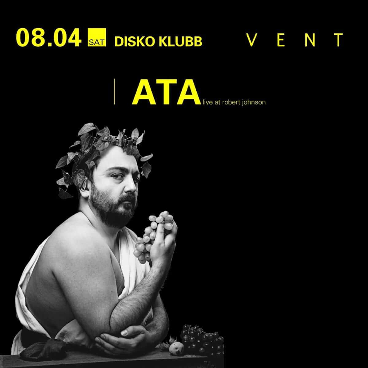 ヨーロッパのエレクトロニック・ミュージックシーンのゴッドファーザー・ATAがMONKEY TIMERS主催「DISKO KLUBB」に登場 music180801-ata-2-1200x1200