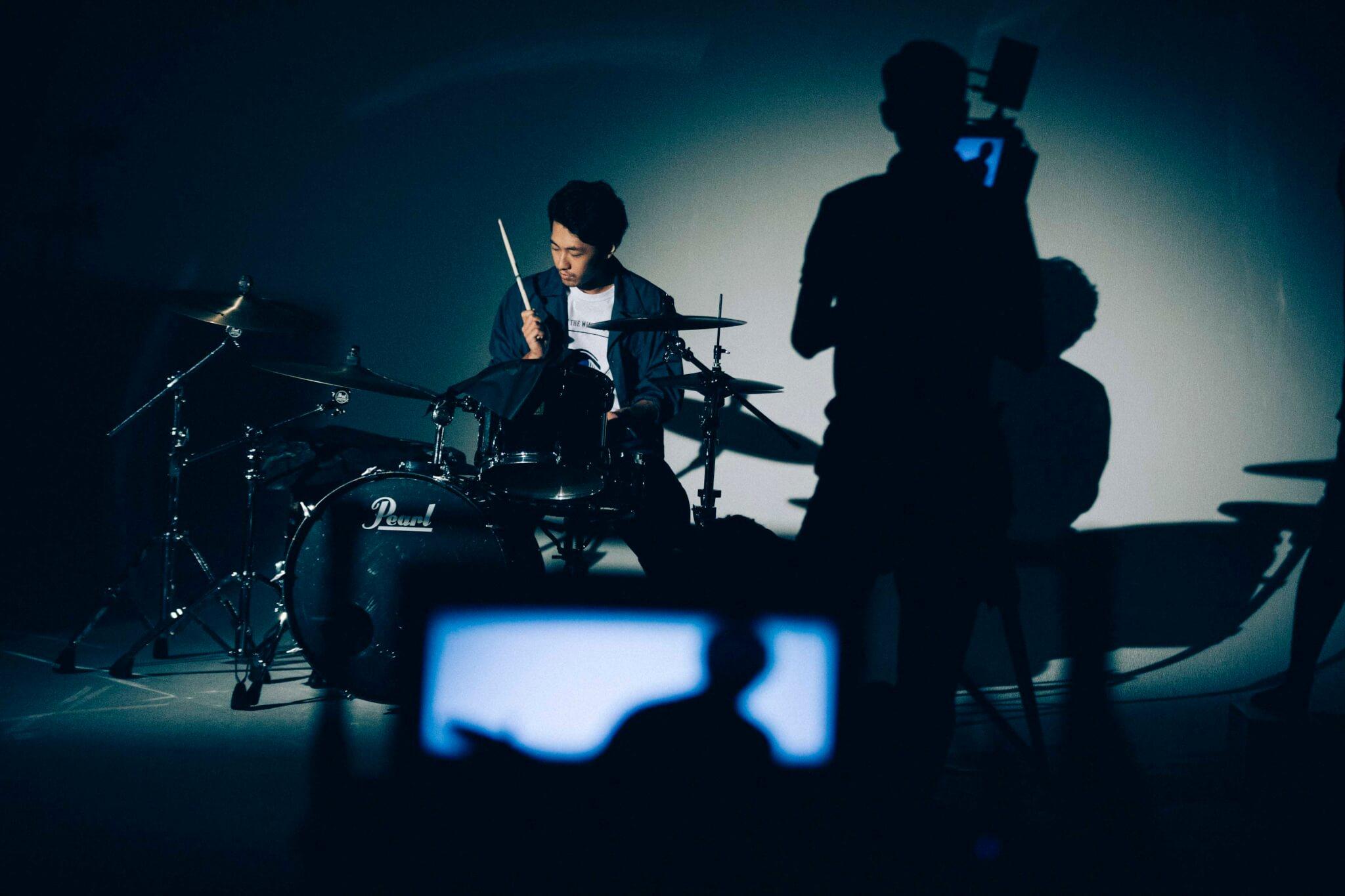 Attractions×ハーレー|コラボ曲「Instant Jam」のMV撮影現場レポ Y1_2377