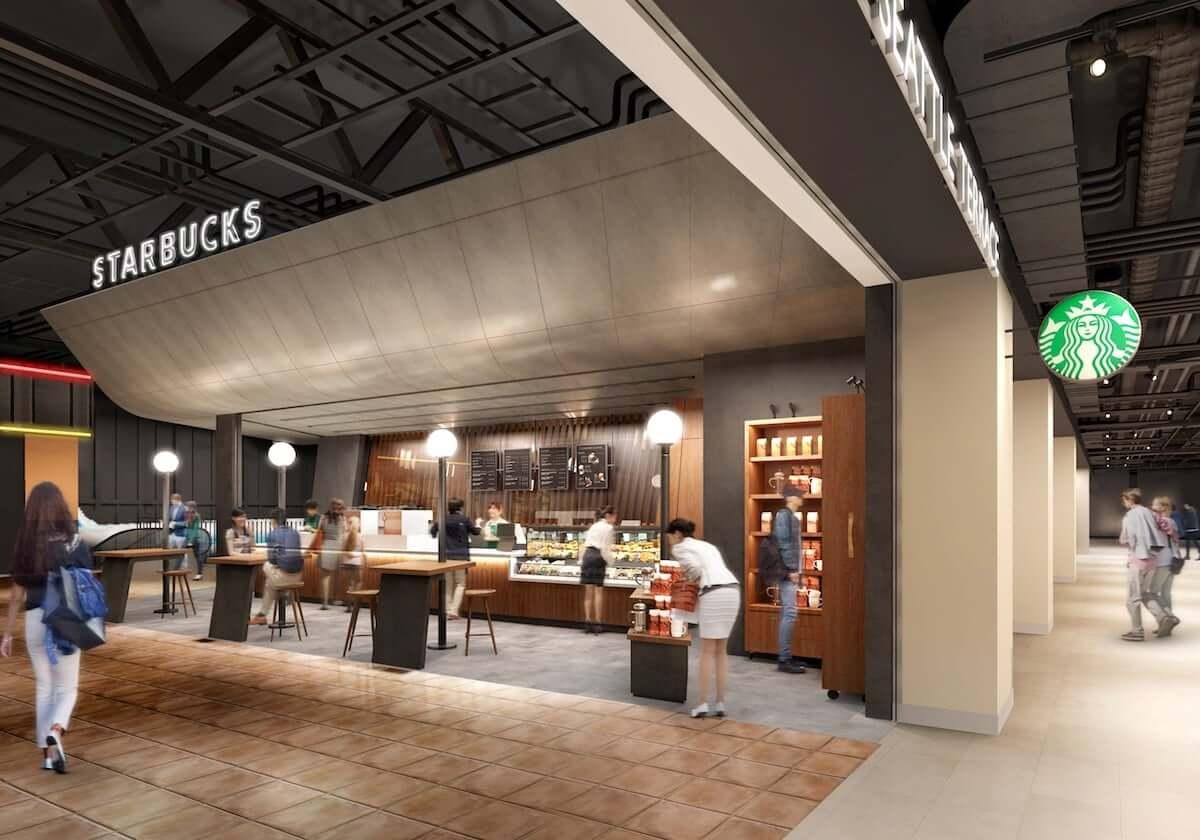 スタバの新店舗 中部国際空港セントレアに誕生!デザインコンセプトは「MOVEMENT」空港らしい店舗に food180930_starbucks_3-1200x840