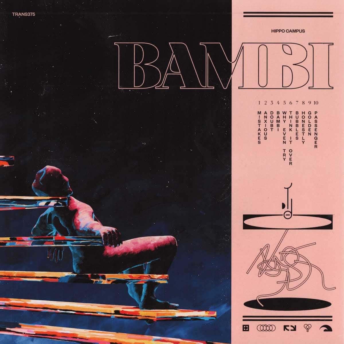 ヒッポー・キャンパスのセカンド・アルバム『バンビ』が配信リリース!!ザ・ディストリクツをゲストに迎えてUSツアーも実施 music_180928_02-1200x1200