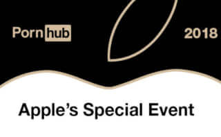 Pornhub Apple Special Event Insight 2018