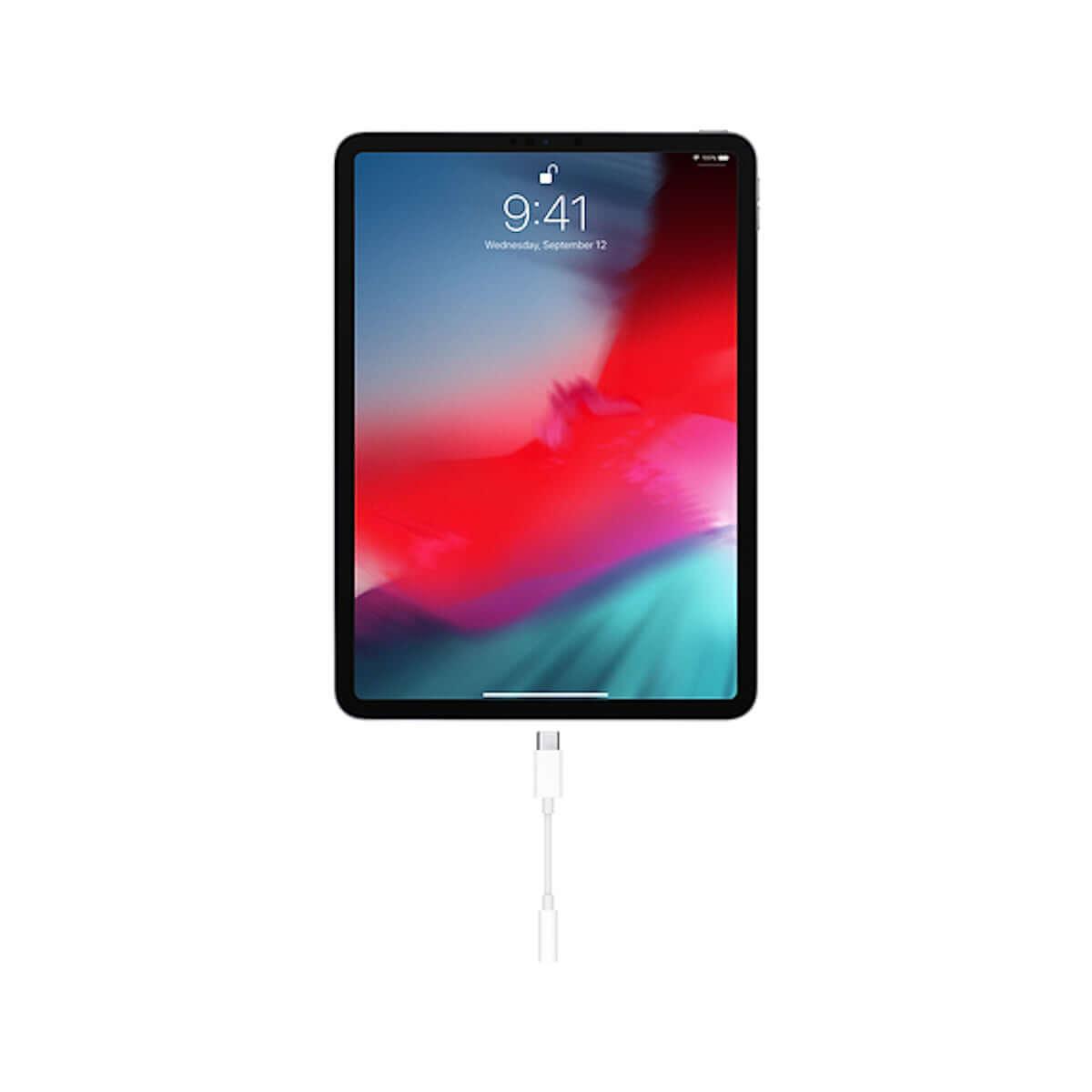 iPad Proからもイヤホンジャックが消えた!「USB-C - 3.5 mmヘッドフォンジャックアダプタ」が1,000円で販売開始! 6e99b8480457e8184c4dbd0288c4ffe7-1200x1200