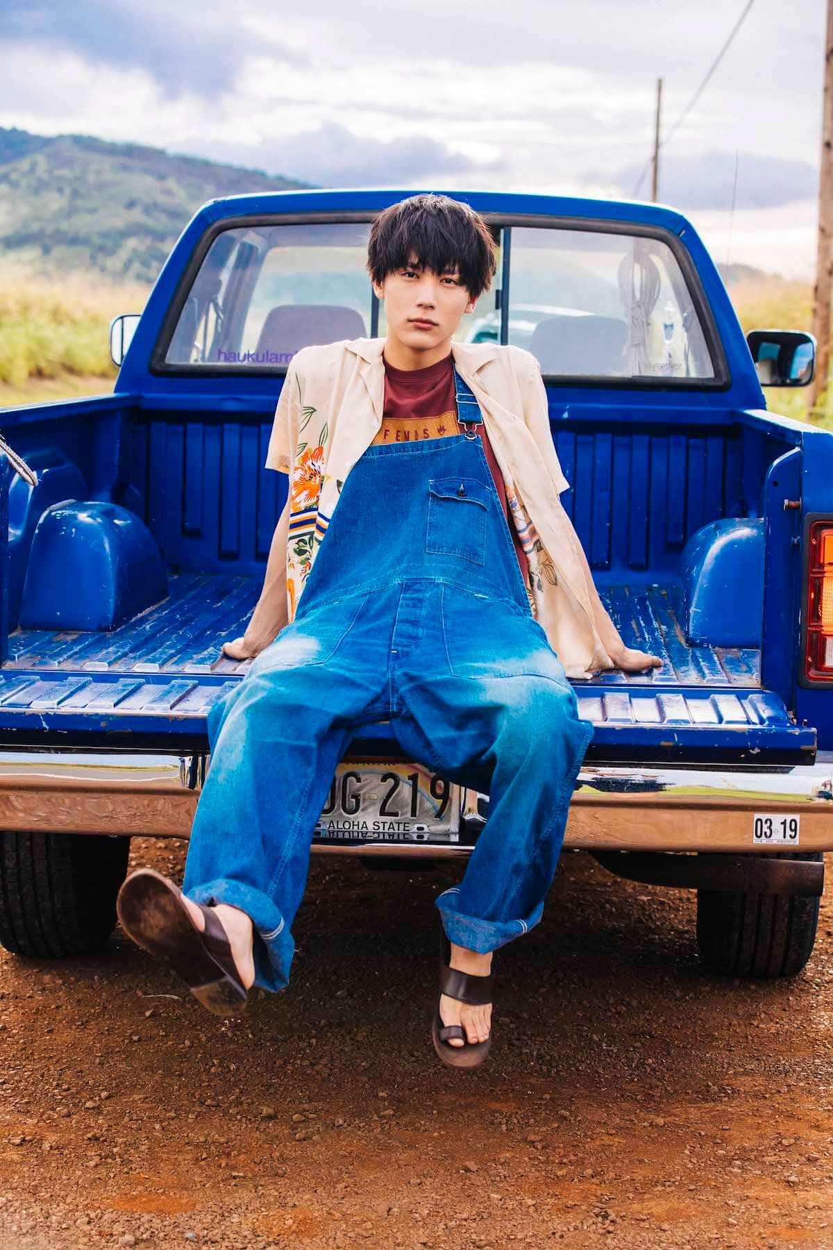 ドラマ『花晴れ』で天馬役を好演!中川大志、二十歳の素顔がハワイで撮影! art181031_taishi-nakagawa_6-1200x1800