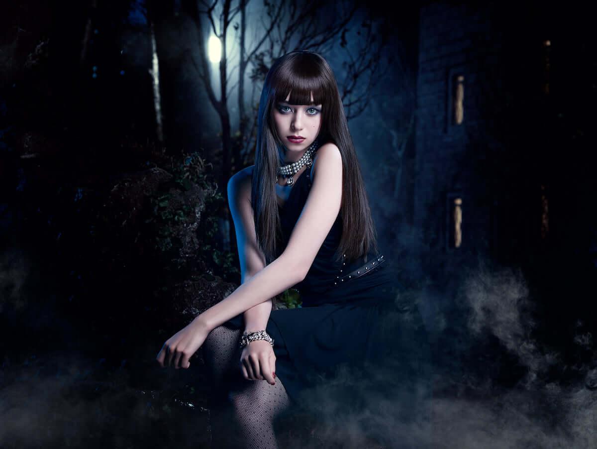 ハロウィンメイク|簡単でかわいい本格的なヴァンパイアメイクの方法が大公開! fashion181015_halloween-makeup-kate_2-1200x902