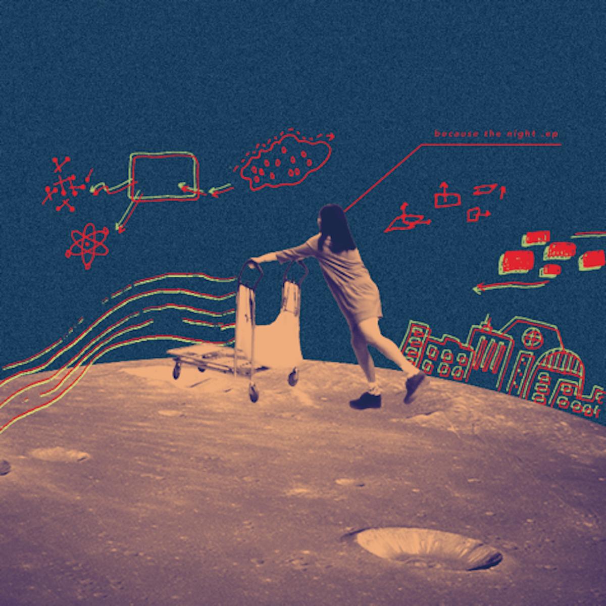 """男女ツインボーカルバンドLaura day romanceが2ndEP『because the night - EP』より""""夜のジェットコースター""""のMV公開! music181001_lauradayromance_02-1200x1200"""
