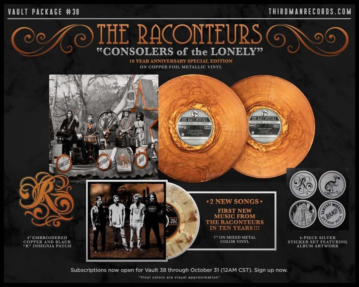 ジャック・ホワイト率いるザ・ラカンターズ、約10年ぶり新作アルバムを2019年にリリースと発表! music181009_the-raconteurs_2-1200x961