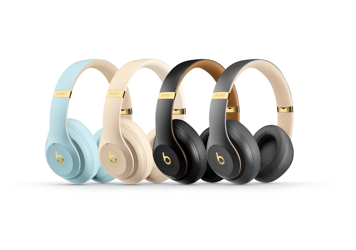 beats studio3 wireless新色 skyline collection が登場 アクセントの