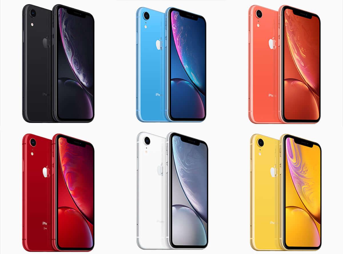 iPhone XR在庫状況から見えてくる人気カラー&容量は?