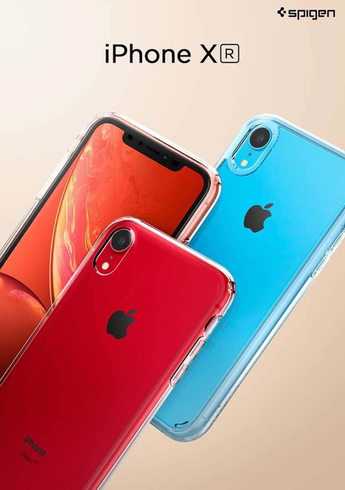 iPhone XRのポップカラーを活かせるクリアケースなどが30%オフ!Spigenが発売記念期間限定セール開催! technology181022_spigen_01-1200x1702