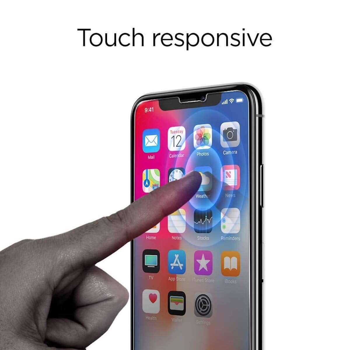 iPhone XR発売記念!Spigenの硬度9H、薄さ0.4mmガラスフィルムが期間限定で半額! technology181026_spigen_2-1200x1200