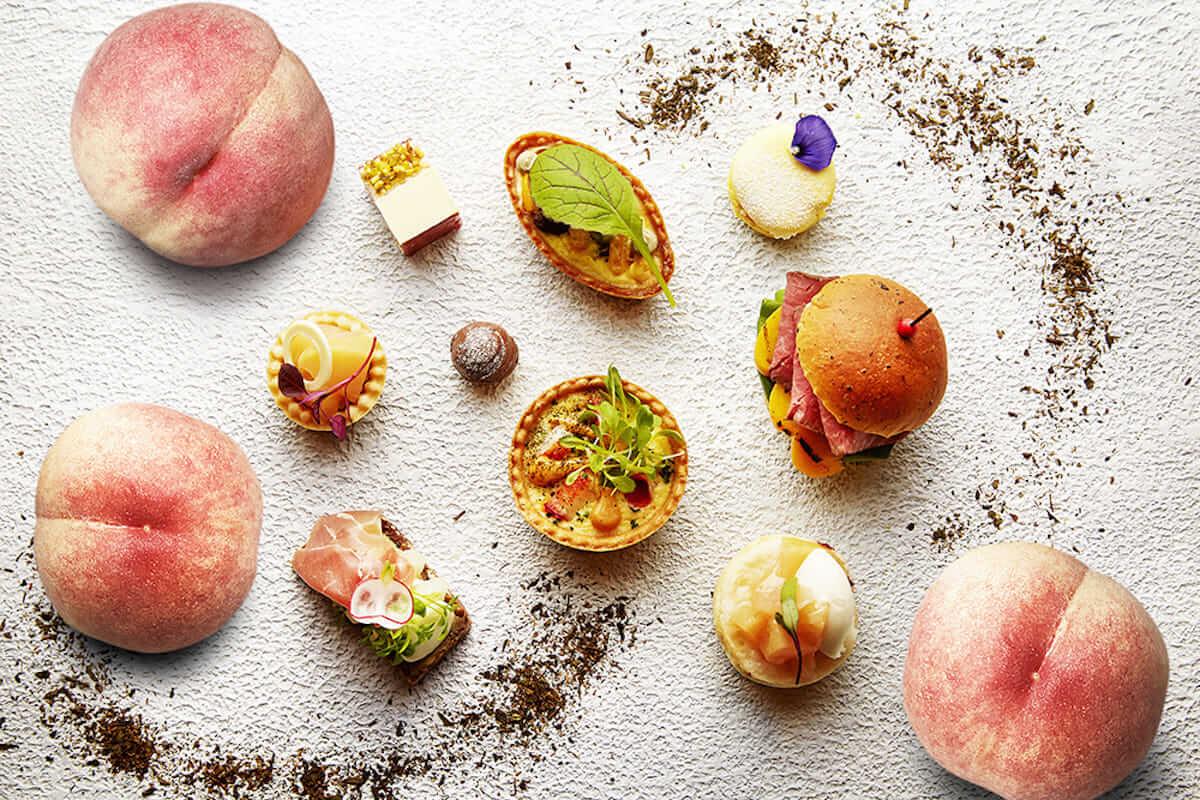 桃を贅沢に使ったピーチスイーツブッフェがインターコンチネンタル大阪にて開催 ! gourmet180529_momo_3-1200x800