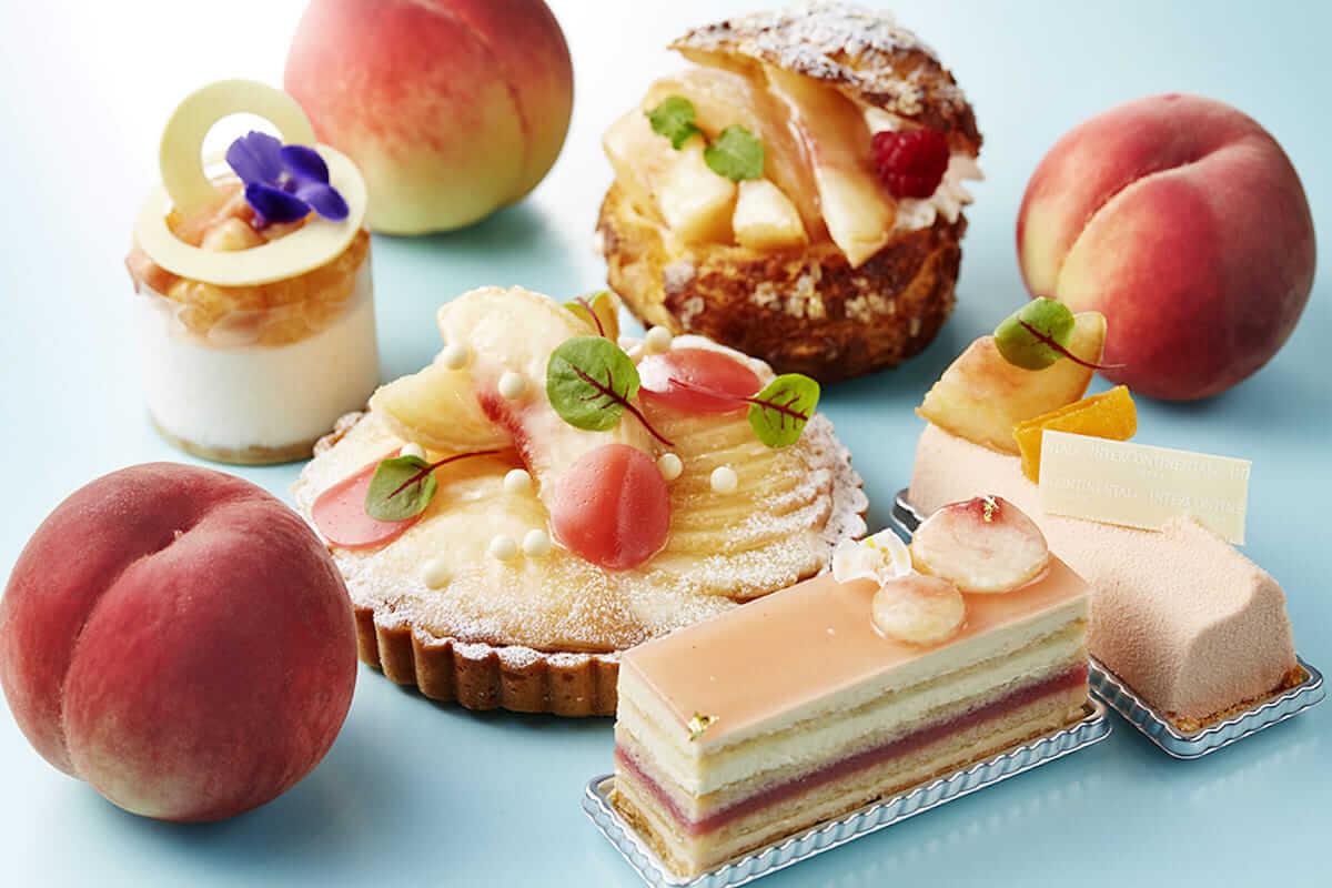 桃を贅沢に使ったピーチスイーツブッフェがインターコンチネンタル大阪にて開催 ! gourmet180529_momo_4-1200x800